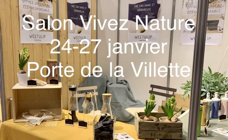 WEETULIP au salon Vivez Nature