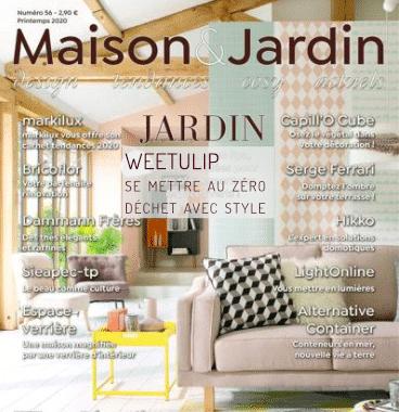 Maison et Jardin Actuels N°56 – Printemps 2020