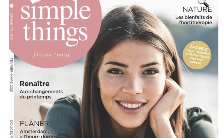 Magazine Simple Things – Charbon de bambou – un filtre naturel